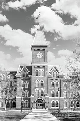 Ohio State University Hall Poster