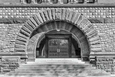 Ohio State University Hayes Hall Entry Poster