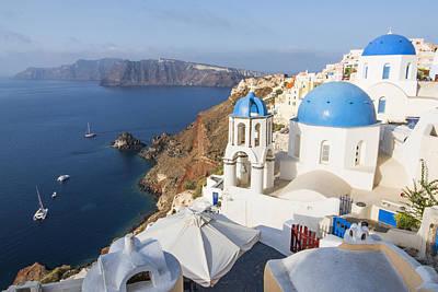 Oia Views, Santorini Greece Poster