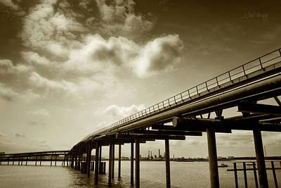 Oil Bridge II Poster by Joseph Westrupp