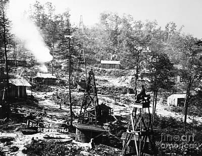 Oil: Pennsylvania, 1863 Poster by Granger
