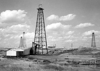 Oklahoma Crude Poster by Larry Keahey
