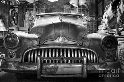 Poster featuring the photograph Ol' Buick Eight by Dean Harte