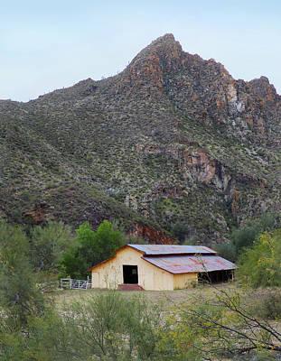 Old Arizona Barn Poster