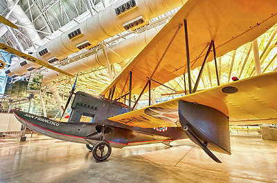Poster featuring the photograph Old Army Biplane by Lara Ellis