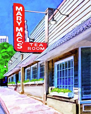 Old Atlanta - Mary Mac's Tea Room Poster