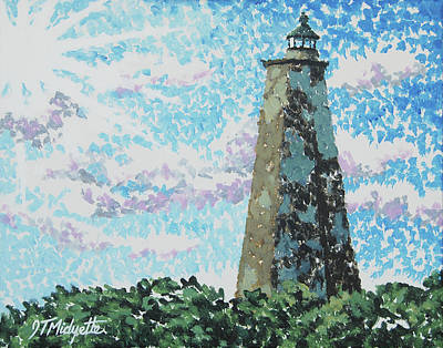 Old Baldy Lighthouse Poster