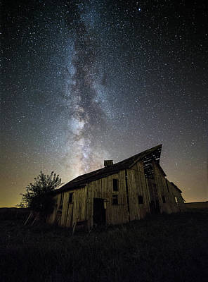 Old Barn Poster by Aaron J Groen