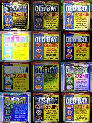 Old Bay Andy Warhol Poster by Jeffrey Todd Moore