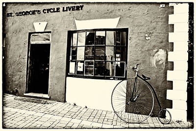 Old Bicycle  Poster by George Oze