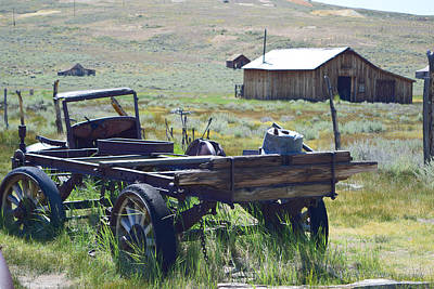 Old Bodie Wagon Poster