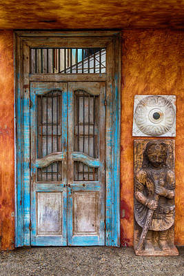 Old Buddha Door Poster
