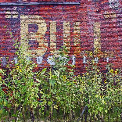 Old Bull Durham Sign - Delta Poster