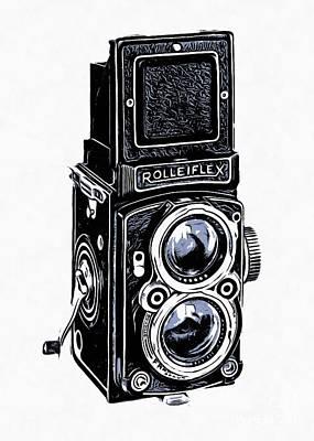 Old Camera II Poster by Edward Fielding