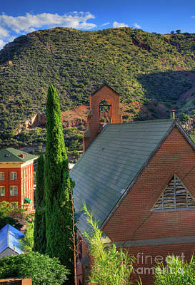 Old Church In Bisbee Poster