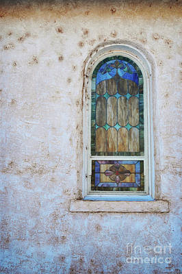 Old Church Window Poster by Andrea Hazel Ihlefeld