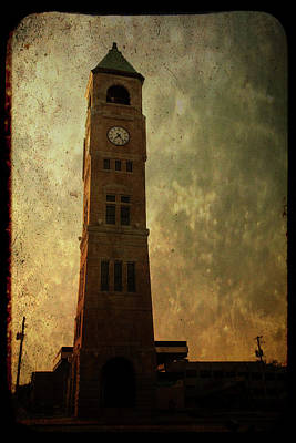 Old City Hall Clock Tower Poster by Joel Witmeyer