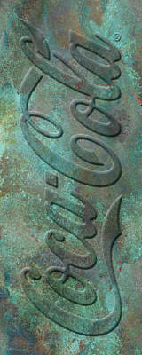 Old Coca Cola Sign Poster