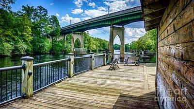 Old Conway Bridge Poster