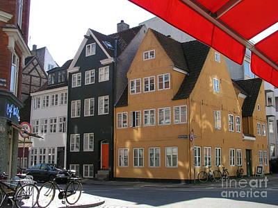 Poster featuring the photograph Old Copenhagen by Erik Falkensteen
