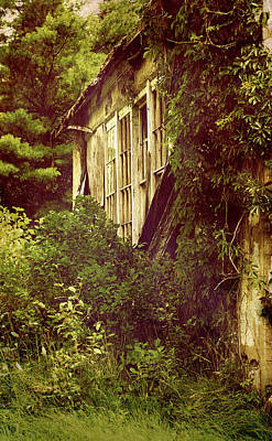 Old Country Schoolhouse. Poster
