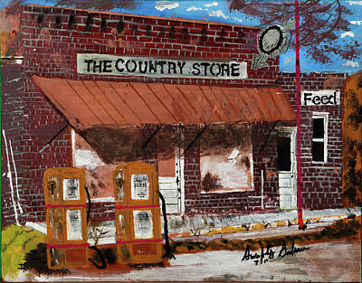 Old Country Store Poster