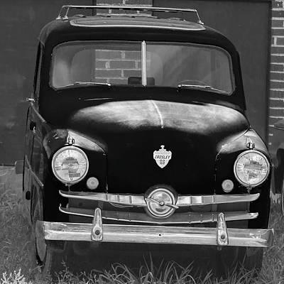 Old Crosley Motor Car Poster