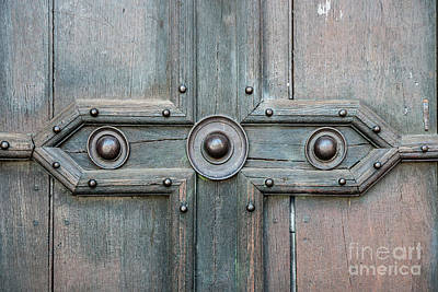 Old Door Detail Poster by Elena Elisseeva