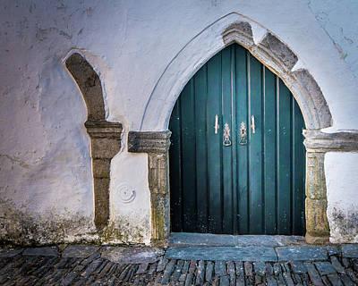 Old Doorway In Monsaraz Poster