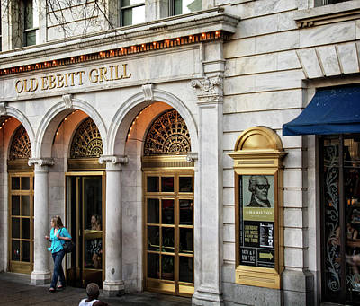 Old Ebbitt Grill Poster by Chrystal Mimbs
