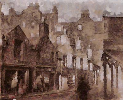 Old Edinburgh Poster