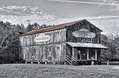 Old Emporium Store Poster