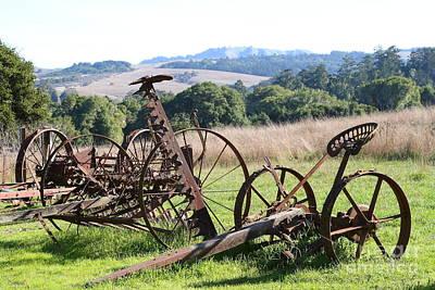 Old Farm Equipment . 7d9744 Poster