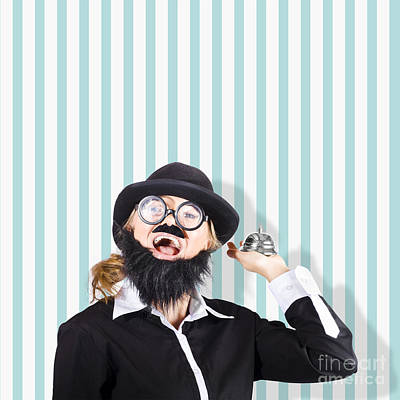 Old Fashioned Sales Service With A Smile Poster by Jorgo Photography - Wall Art Gallery