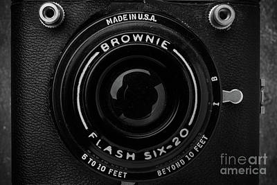 Old Film Camera Kodak Brownie Six-20 Poster by Edward Fielding