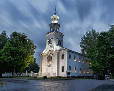 Old First Church Of Bennington Poster