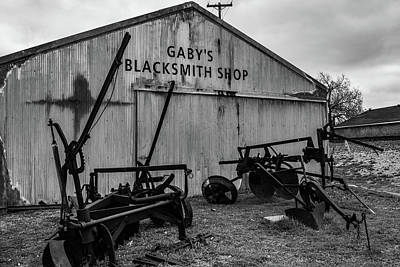 Old Frisco Blacksmith Shop Poster