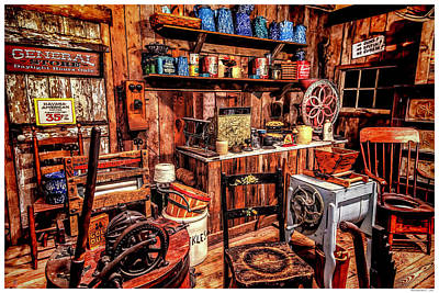 Old General Store II Poster