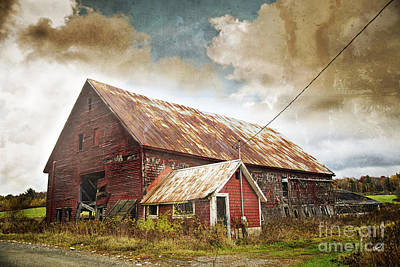 Old Hay Barn Poster by Alana Ranney