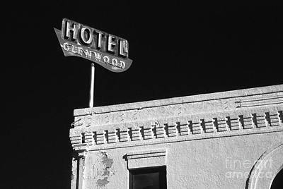 Old Hotel Glenwood Tucson Arizona Poster by Arni Katz