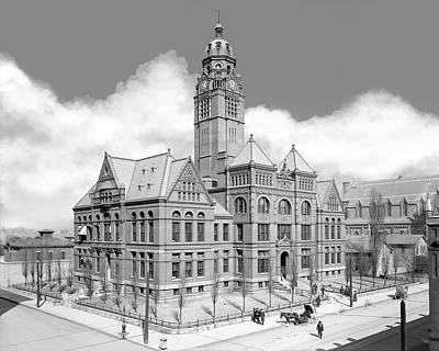 Old Jefferson County Courthouse - Birmingham Poster by Mark E Tisdale
