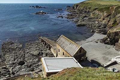 Poster featuring the photograph Old Lifeboat Station by Brian Roscorla