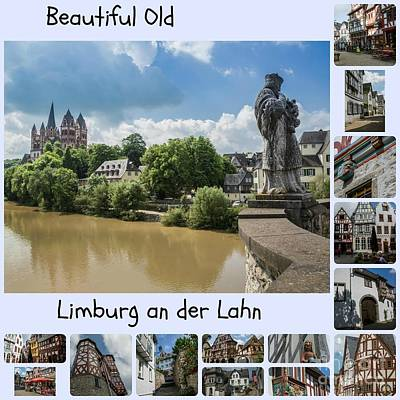 Old Limburg Collage Poster