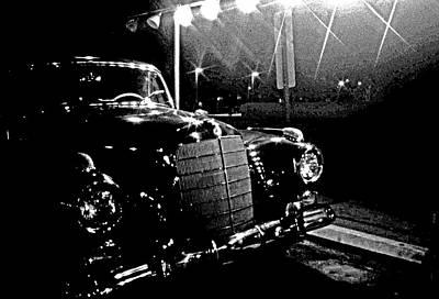 Old Mercedes Poster