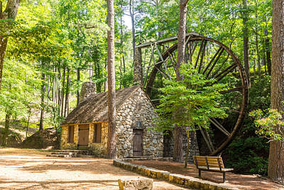 Old Mill At Berry College Poster by Sussman Imaging