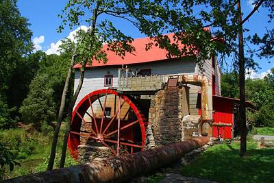Old Mill Of Guilford Poster by Kathryn Meyer