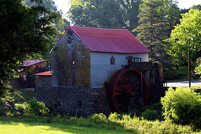 Old Mill Of Guilford Poster by Selena Wagner