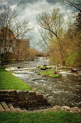 Old Mill On The River Poster