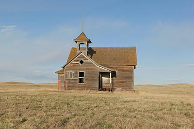 Old One Room School House Poster