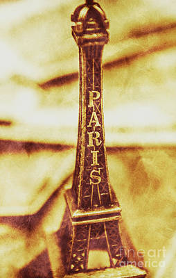 Old Paris Decor Poster